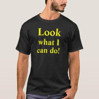 Se vad jag kan göra! beställnings- t shirts