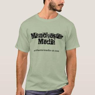 Se vass i en Manchester som massmedia bemannar Tshirts