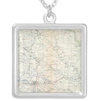 SE Virginia, Ft Monroe Silverpläterat Halsband