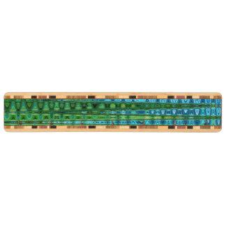 SeagrassSapele nyckel- kugge av C.L. Bryna Nyckelhängare
