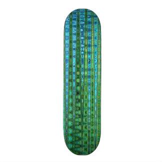 SeagrassSkateboard av konstnären C.L. Bryna Mini Skateboard Bräda 18,7 Cm