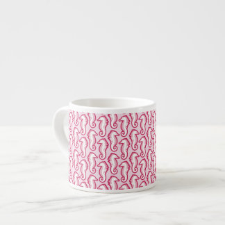 Seahorse Frolic espressomugg - rosa