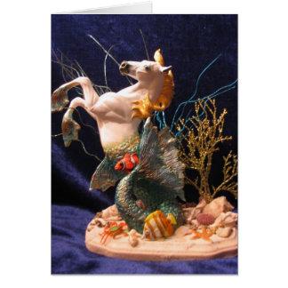 Seahorse Hälsningskort