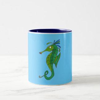 Seahorse Två-Tonad Mugg