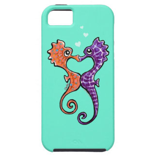 Seahorse Kiss Off-Leash Art™