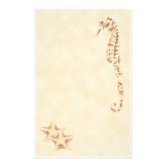 SeahorseSeastar brevpapper