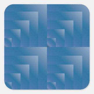 Seamless blåbärlutning fyrkantigt klistermärke
