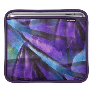 seamless cubismlilor, abstrakt konst för blått sleeve för iPads
