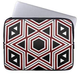 Seamless konst 2 för Retro mönster Laptop Fodral