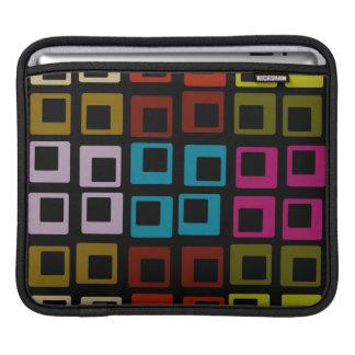 Seamless konst för Retro färgrikt mönster iPad Sleeve