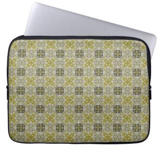 Seamless konstleopardpäls laptop fodral