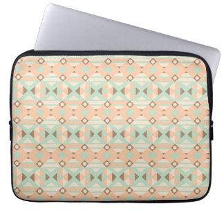 Seamless mönster 18 för etniska marockanska motiv laptop fodral