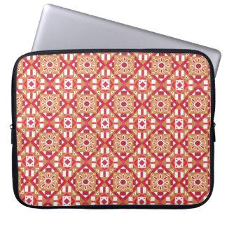 Seamless mönster 1 för geometrisk marockansk laptop fodral