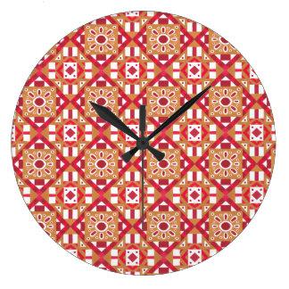 Seamless mönster 1 för geometrisk marockansk stor klocka