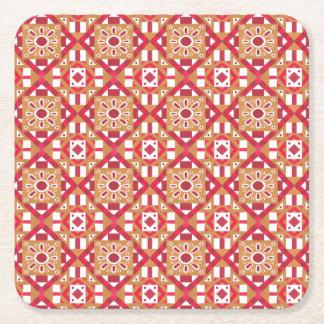 Seamless mönster 1 för geometrisk marockansk underlägg papper kvadrat