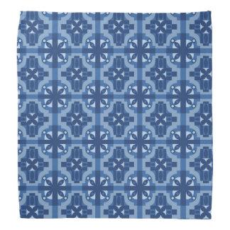 Seamless mönster 2 för etniska marockanska motiv scarf
