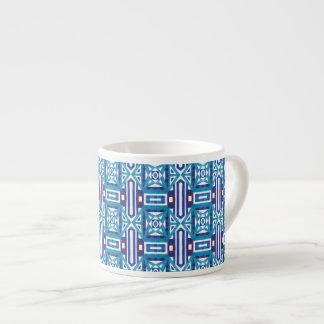 Seamless mönster 2 för geometrisk marockansk espressomugg