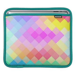 Seamless mönster 2 för multifärgadsparre iPad sleeve