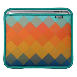Seamless mönster 3 för multifärgadsparre iPad sleeve