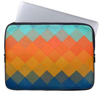 Seamless mönster 3 för multifärgadsparre laptop sleeve