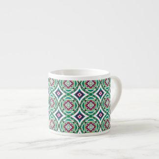 Seamless mönster 4 för geometrisk marockansk espressomugg