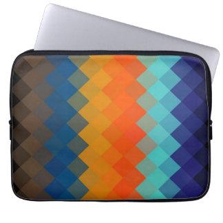 Seamless mönster 4 för multifärgadsparre laptop sleeve