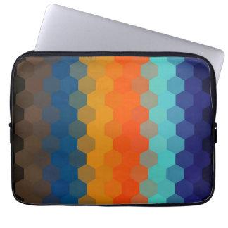 Seamless mönster 5 för multifärgadsparre laptop fodral