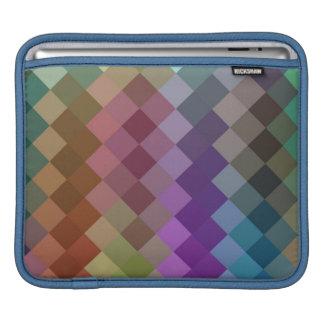 Seamless mönster 8 för multifärgadsparre iPad sleeve