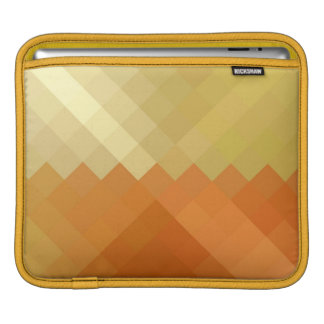 Seamless mönster för gul och orange sparre iPad sleeve
