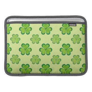 Seamless mönster för irländsk lycklig MacBook air sleeve