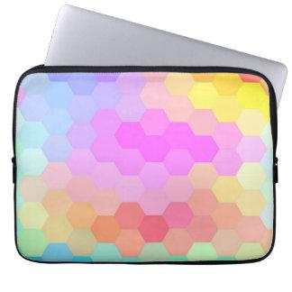 Seamless mönster för multifärgadsparre laptop sleeve