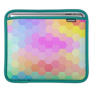 Seamless mönster för multifärgadsparre sleeve för iPads