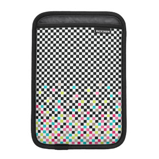 Seamless mönster för schack iPad mini sleeve