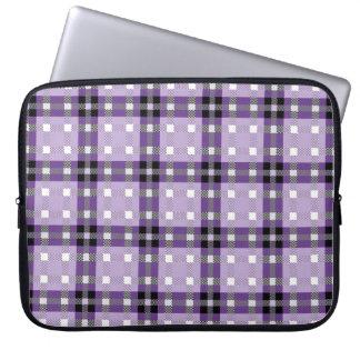 Seamless mönstertartan för laptop sleeve