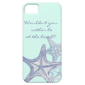Seastar iphone case för blått iPhone 5 skal