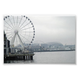 Seattle Washington Fototryck