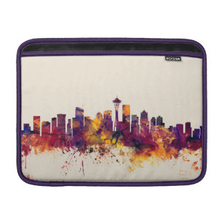 Seattle Washington horisont MacBook Sleeve