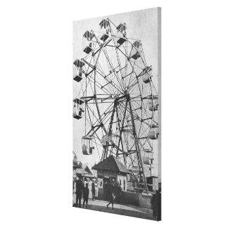 Seattle WashingtonYukon-Stillahavs- Expo Ferris Canvastryck