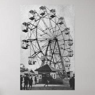 Seattle WashingtonYukon-Stillahavs- Expo Ferris Poster