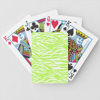 sebra limefruktsebra, vilddjur, djungel, vild spelkort