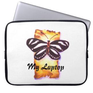Sebrafjärilslaptop sleeve laptopskydd