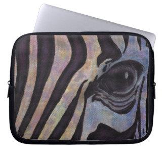 "SebraNeoprenelaptop sleeve 10"" (Lori Corbett) Laptop Datorfodral"
