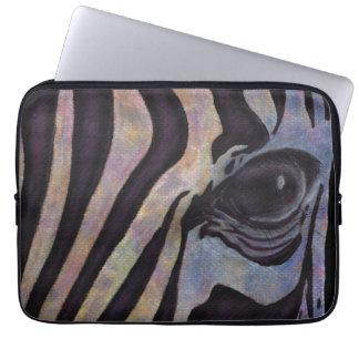 "SebraNeoprenelaptop sleeve 13"" (Lori Corbett) Laptop Datorfodral"
