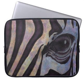 "SebraNeoprenelaptop sleeve 15"" (Lori Corbett) Datorskydd"