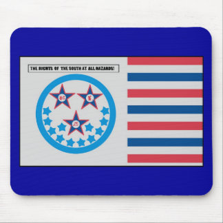 Secessionflagga som används vid Florida - Januari  Musmatta