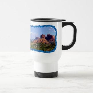 Sedona för turkosdomkyrkadal travel mug resemugg
