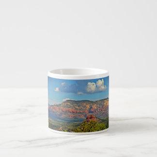 Sedona landskap den beställnings- muggen espressomugg