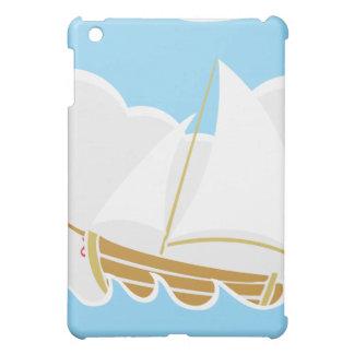Segelbåt på hav iPad mini skydd
