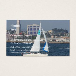 Segelbåt Visitkort