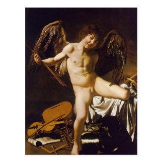 Segerrik Caravaggio- kärlek Vykort